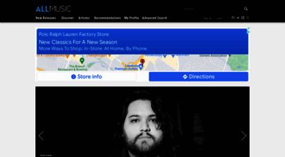 allmusic.com - allmusic  record reviews, streaming songs, genres & bands