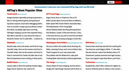 alltop.com - alltop.com - popular news sites for any topic