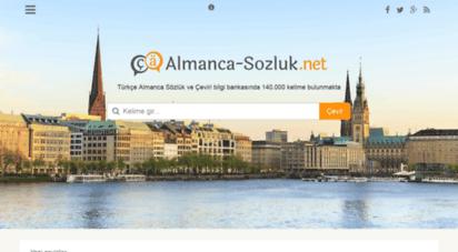 almanca-sozluk.net - almanca-sozluk.net - türkçe almanca sözlük çeviri tercüme