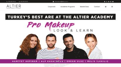 altier.com.tr - moda ve güzellik akademisi  altier academy