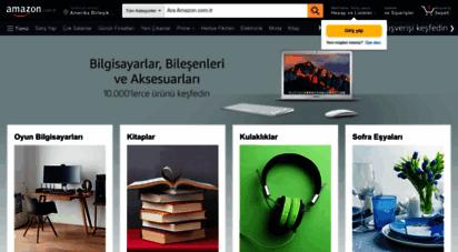 amazon.com.tr - amazon.com.tr: elektronik, bilgisayar, akıllı telefon, kitap, oyuncak, yapı market, ev, mutfak, oyun konsolları ürünleri ve daha fazlası için internet alışveriş sitesi