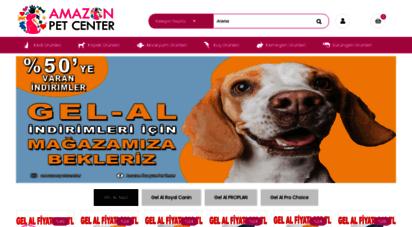 amazonpetcenter.com - pet shop / kedi maması / köpek maması / akvaryum / kuş