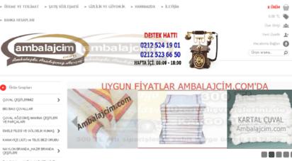 ambalajcim.com - ambalajcim.com - çuval ve çuval ürünleri imalatçısı - çuval merkezi