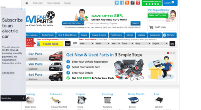 amcarparts.co.uk - am car parts  new and used car parts and accessories in uk