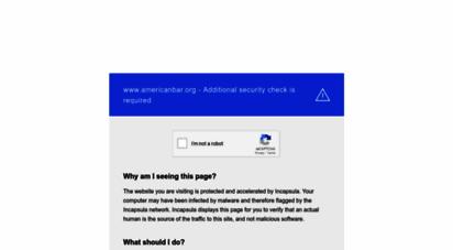 americanbar.org - american bar ssociation