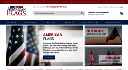 americanflags.com - american flags - better quality, weather-resistant flags shipped fast for less money