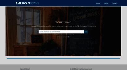 americantowns.com -