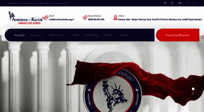 amerikankultur.org.tr - amerikan kültür® yabancı dil kursları  anasayfa