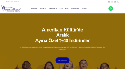 amerikankulturaksaray.com - türkiye´nin en iyi ingilizce kursu - amerikan kültür aksaray fatih