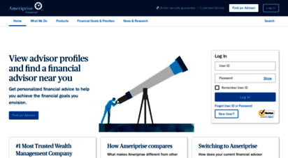 ameriprise.com - financial planning advice and financial advisors  ameriprise financial