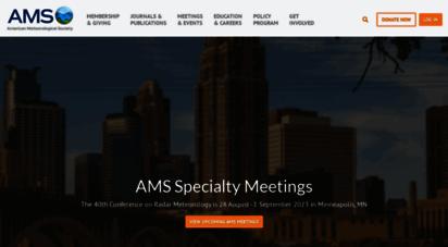 ametsoc.org - home - american meteorological society