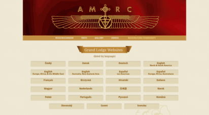 amorc.org - amorc - international website for the ancient and mystical order rosae crucis