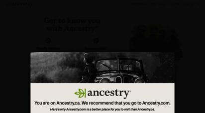 ancestry.ca -
