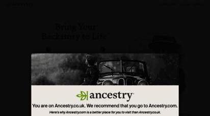 ancestry.co.uk -