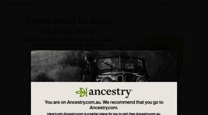 ancestry.com.au -