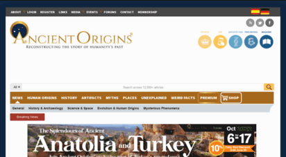 ancient-origins.net - ancient origins  reconstructing the story of humanity´s past