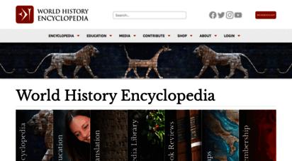 ancient.eu - ancient history encyclopedia