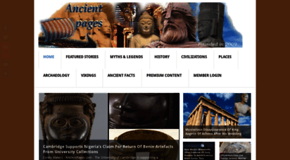 ancientpages.com - ancient pages  all about the ancient world