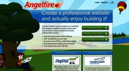 angelfire.com - angelfire: welcome to angelfire