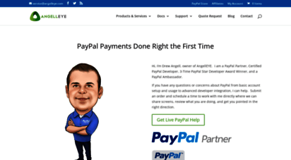 angelleye.com - certified paypal developer  official paypal partner