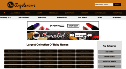 angelsname.com - world´s largest baby names collection  angelsname