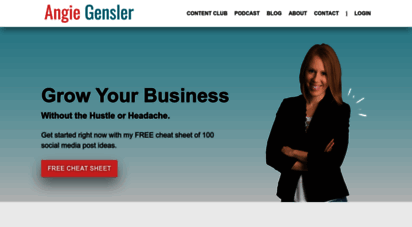 angiegensler.com - angie gensler  social media & digital marketing