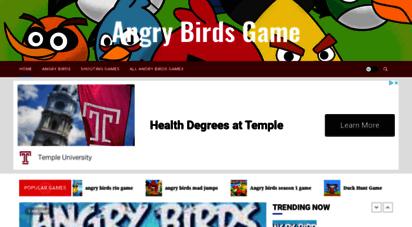angry-birdsgame.com - angry birds game  play online all angry birds games free at angry-birdsgame.com