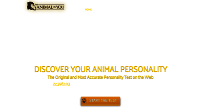 animalinyou.com - what animal are you? - the animal in you personality test