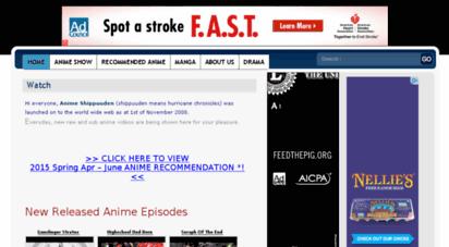 animeshi.tv - animeshippuuden.com - bringing you high quality + fast working anime videos since 2008.
