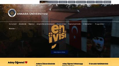 ankara.edu.tr