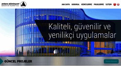 ankaraaluminyum.com.tr - ankara alüminyum a.ş
