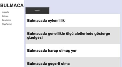 anlami.net - bulmaca sözlüğü - türkçe sözlük ve kelime anlamları