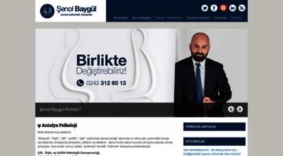 antalyapsikolojikdanisma.com - uzm. psk. dan. şenol baygül 0242 312 60 13
