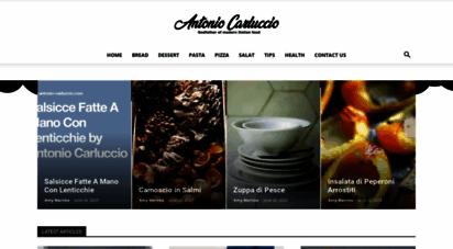 antonio-carluccio.com - welcome to antonio carluccio´s official website