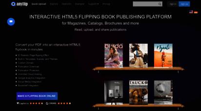 anyflip.com - free flip book maker pdf to html5 & flash flipping book software  anyflip