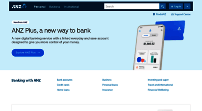 anz.com - anz personal banking  accounts, credit cards, loans, insurance  anz