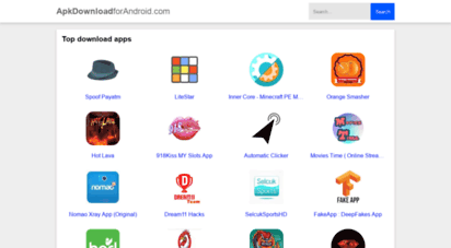 apkdownloadforandroid.com - free apk download for android, 100 safe and unmodified files!