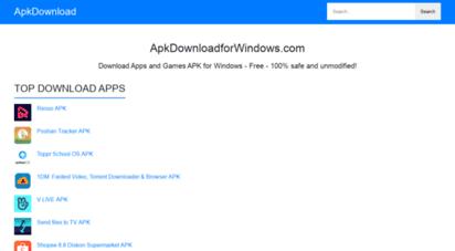 apkdownloadforwindows.com