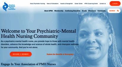 apna.org - american psychiatric nurses ssociation - american psychiatric nurses ssociation