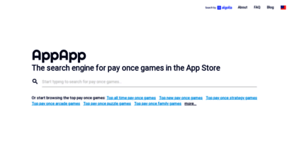 appapp.io - appapp.io - a better search engine for the app store