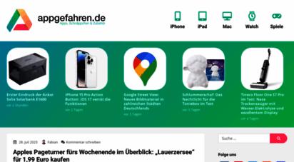 appgefahren.de - appgefahren.de - blog über iphone, ipad & mac