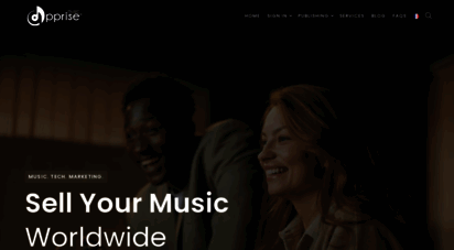 apprisemusic.com - apprise music offers many options for music distribution and promotions