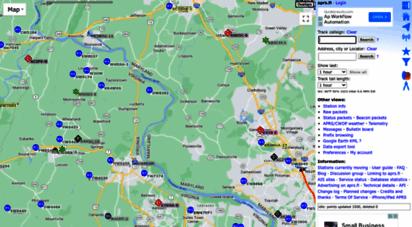 aprs.fi - google maps aprs
