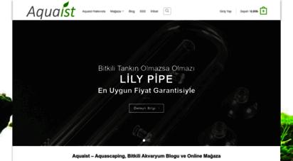 aquaist.com - aquaist - aquascaping, bitkili akvaryum ve tasarımı