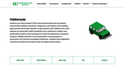 arababara.com - bilgilendirici otomobiller - arababara.com