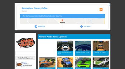 arabayarisi.com - araba yarışı, araba oyunları oyna