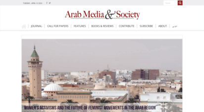 arabmediasociety.com - arab media & society