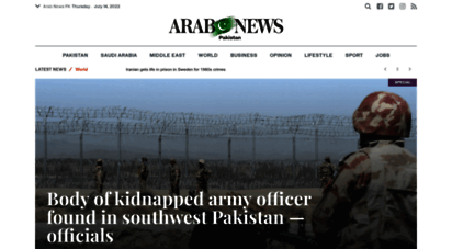 arabnews.pk - arab news pk - worldwide latest breaking news & s