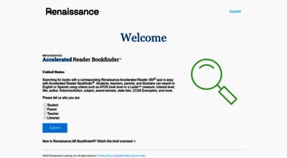 arbookfind.com - accelerated reader bookfinder us - welcome