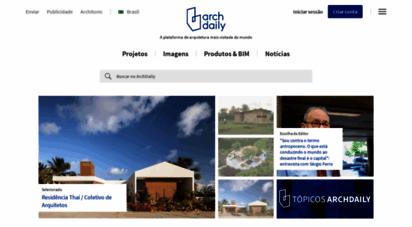archdaily.com.br - archdaily brasil  o site de arquitetura mais visitado do mundo, agora em português